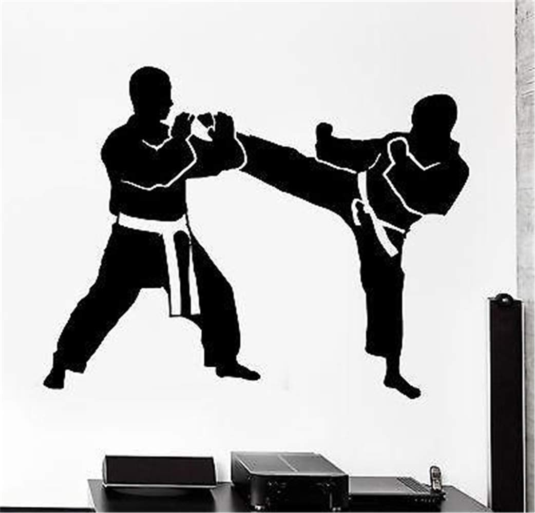 grunm Vinyl Wall Art Inspirational Quotes and Saying Home Decor Decal Sticker Sport Karate Taekwondo Fight Fighting by grunm