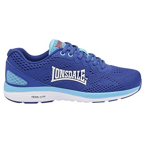 Chaussures Bleu Lonsdale Femme Outdoor Lisala Océan bleu blanc Multisport ZaUw5q