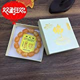 Factory hand imitation of beeswax barrel bead bracelets bracelet gift Trade supply chicken fat yellow beads bracelet lap