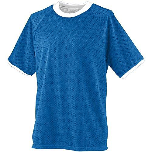 (Augusta Sportswear Boys' Reversible Practice Jersey L Royal/White)