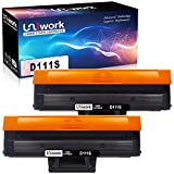 Uniwork D111S Toner Cartridges Replacement for Samsung MLT-D111S use for Samsung Xpress M2020 M2020W M2022 M2022W M2026 M2026W SL-M2070 SL-M2070W SL-M2070F SL-M2070FW (2 Black)