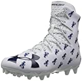 Under Armour Men's Highlight M.C. -Limited Edition Lacrosse Shoe, White (101)/Midnight Navy, 11