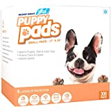 Mednet Direct 6 Layer Dog Training and Puppy Pads for Pets With Deodorant and Attractant Large 17 x 24, 300 Count