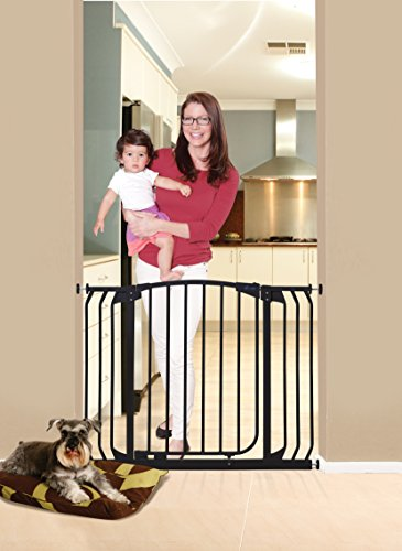 Dreambaby Chelsea Extra Wide Auto Close Security Gate in Black by Dreambaby (Image #2)
