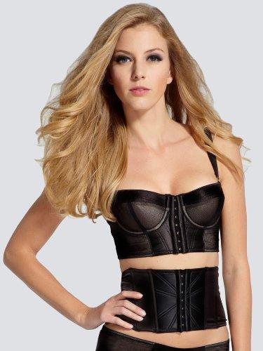 0f58dc2795 La Senza In Control Bra Waist Cincher - Size  18 - Color  BLACK   Amazon.co.uk  Clothing