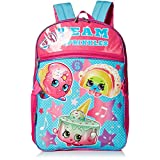 Shopkins Girls' Backpack with Lunch, Blue