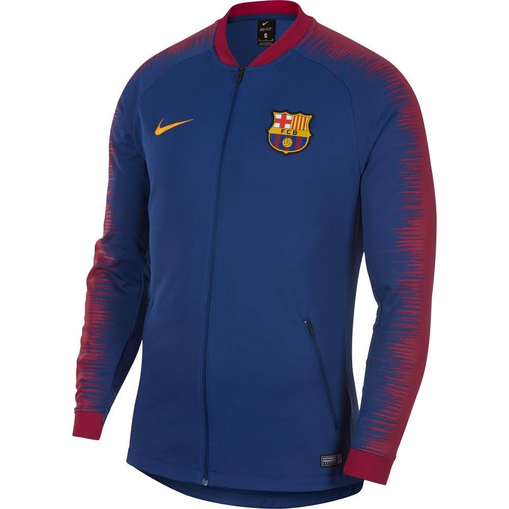 new arrival 4d971 b50c0 NIKE FC Barcelona Anthem Men's Soccer Jacket