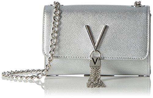 Plateado Valentino Divina By Hombro Bolso Mario Mujer De argento On0Rf6q6