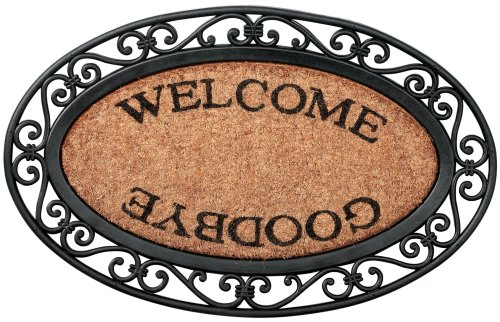 Esschert Design Welcome Goodbye Door