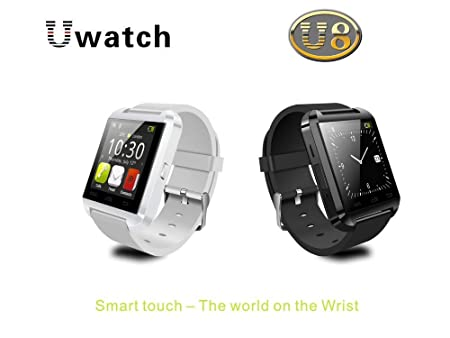 LEMFO Bluetooth Smart Watch Reloj Pulsera Inteligente U8 UWatch, Apto para Smartphones IOS Android Apple iphone 4/4S/5/5C/5S Android Samsung ...