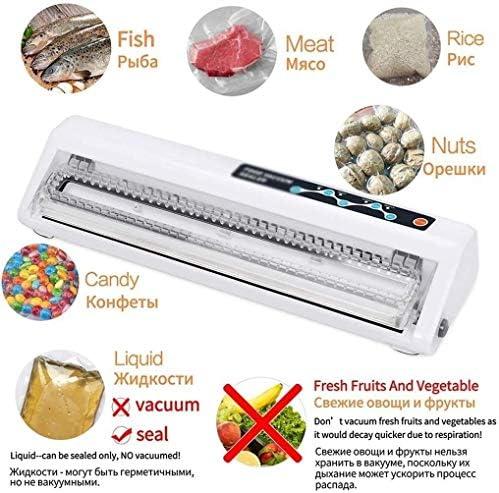 HIZLJJ Vacuümmachine, voedselvacuüm-luchtafdichtsysteem voor voedselopslag opslag, verpakking voedselopslag