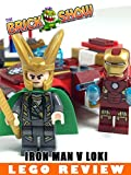 LEGO Marvel Iron Man vs Loki Review (10721)