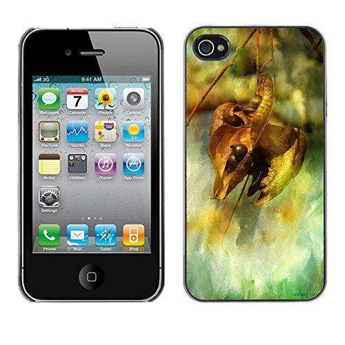 Premio Sottile Slim Cassa Custodia Case Cover Shell // F00003645 l'automne // Apple iPhone 4 4S 4G