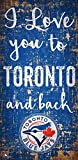 Fan Creations MLB Toronto Blue Jays I Love You to Signtoronto Blue Jays I Love You to Sign, Team, One Sizes