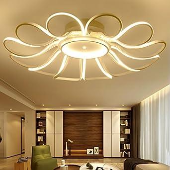 TIANLIANG04 Deckenleuchten Led-Schlafzimmer leuchten,runde Blumen ...