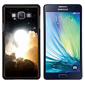 Qstar Arte & diseño plástico duro Fundas Cover Cubre Hard Case Cover para Samsung Galaxy A7 A7000 (Cielo nublado)