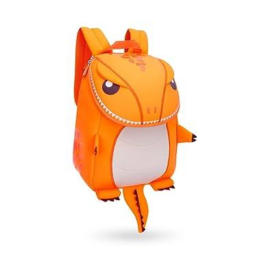Coavas Kids Backpack Dino Toddler Backpacks Cute Dinosaur Orange - Gift For  Kid af61bd2ba7