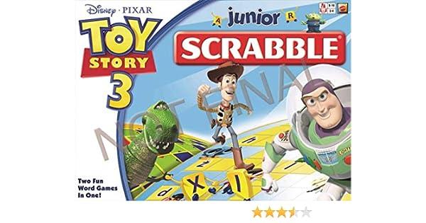 Mattel Toy Story 3 - Scrabble Junior: Amazon.es: Juguetes y juegos