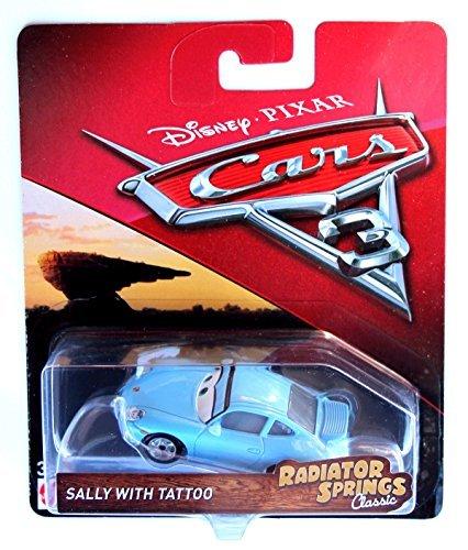 Disney Pixar Cars Radiator Springs Classic Sally with Tatoo Die-Cast Vehicle