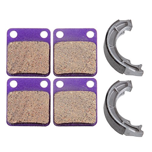 - SCITOO High Performance Brake Shoes and Brake Pads Fit for 02 03 04 05 06 07 Suzuki 400