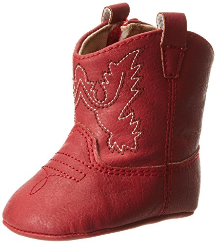 Baby Deer Western Boot (Infant),Red,2 M US Infant