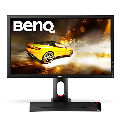 BenQ XL2720Z 27 inch 144 Hz e-Sports Gaming Monitor (1 ms Response Time, Game Mode (FPS, RTS, MOBA), Black eQualiser, Flicker-free, Height Adjustable Stand, S-Switch, HDMI x 2) - Black