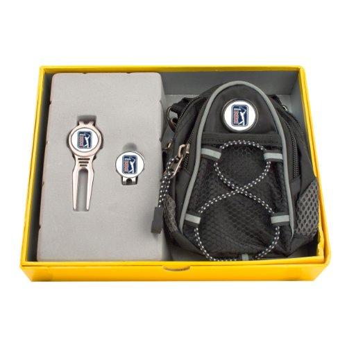 CMC Golf PGA Tour Gift Set with Mini Daypack, Divot Tool and Cap Clip