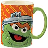 Sesame Street Oscar the Grouch Mug 14 oz