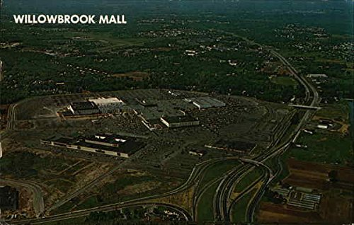 Aerial View of Willowbrook Mall Wayne, New Jersey Original Vintage - Mall Wayne