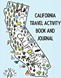 California Travel Activity Book and Journal