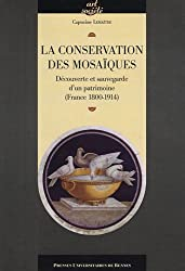 La conservation des mosaïques : Découverte et sauvegarde d'un patrimoine (France 1800-1914)