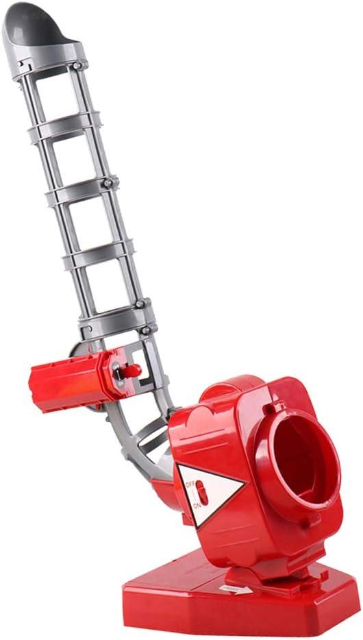 D DOLITY Máquina de Lanzamiento con Ángulos de Visión Ajustados de Béisbol Tenis Infantil para Equipamiento Deportivo de Jardín de Infancia