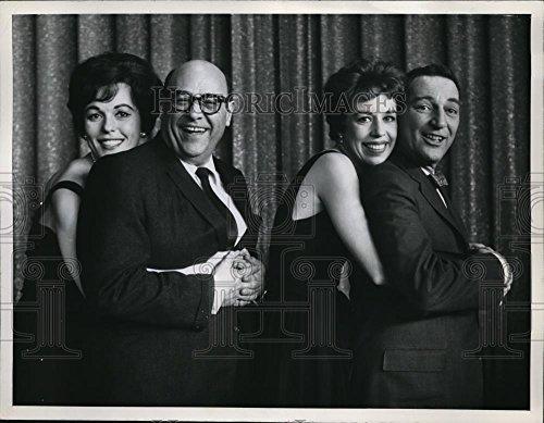 Vintage Photos 1961 Press Photo Bess Myerson Jack E. Leonard I've Got A Secret