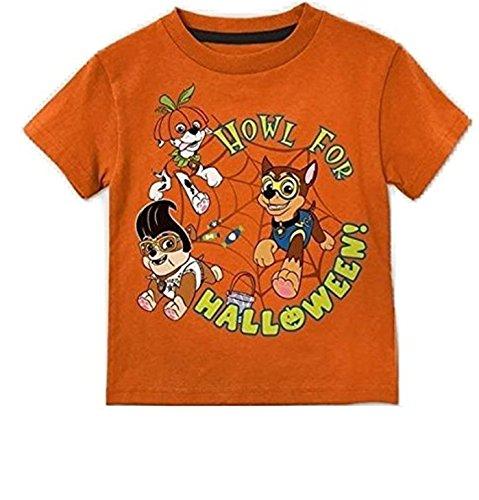 Paw Patrol Toddler Halloween T-Shirt (Paw Patrol Pumpkin)