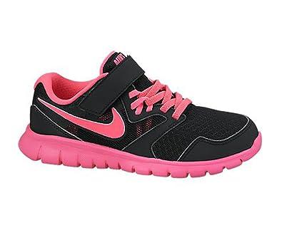 a6d52979b03ece New Nike Mädchens Flex Experience 3 Sportschuhe schwarz   pink 2 ...