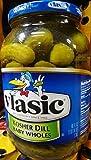 Vlasic: Baby Kosher Dills Pickles, 46 Fl oz by Vlasic