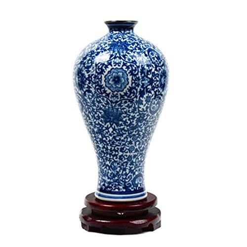 - Kun Partner Chinese Blue And White Porcelain Vases Home Decor Ceramic Vase, Pattern 14