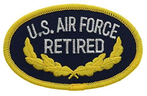 US Air Force Retired Hat or Shoulder 3.5 Inch Patch HONFL1194