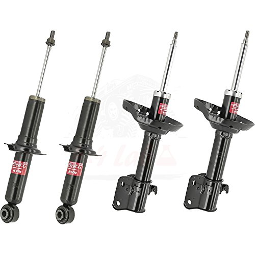 KYB Quick Mount Kit of 4 Struts (Front + Rear) fits SUBARU Legacy Outback, Outback 2005-08 GR-2/EXCEL-G Twin Tube Gas Charged for Replacement, Performance, Leveling, Touring & 4x4 Offroad