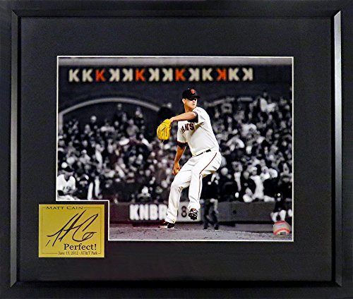 Matt Cain 11x14 Spotlight Photograph