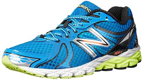 New Balance Men's M870 Mild Stability Running Shoe,Blue/Black,11.5 D US