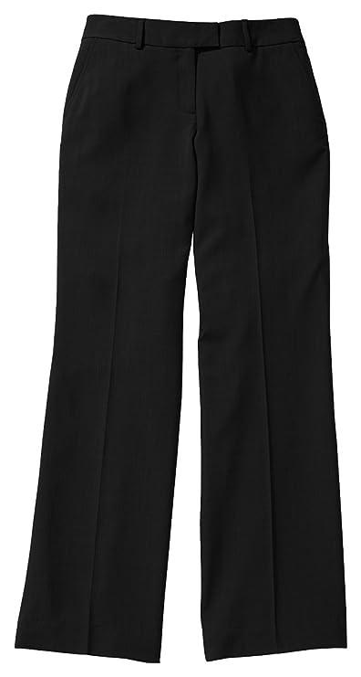 Edwards Mens Microfiber Flat Front Pant 32 BLACK