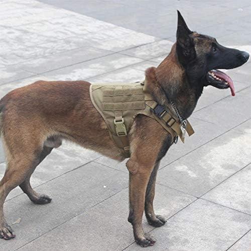 ZZYLHS Perro Militar Táctica Modular Arnés De Tiro Delantero Sin ...