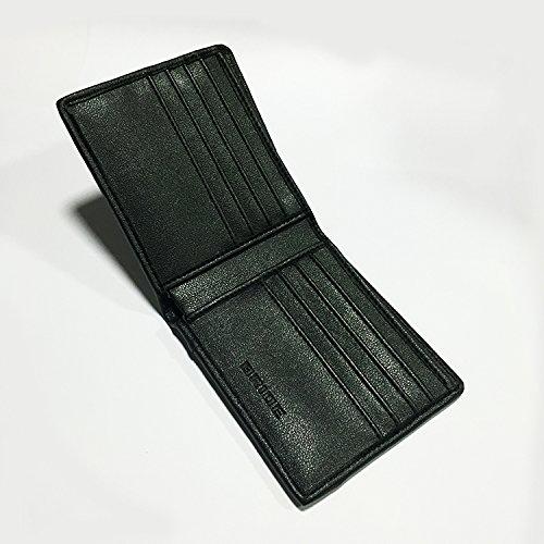 Geldbörse Kredit Kartenetui Geldbörse Brieftasche - Grün Grau
