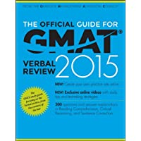 The Official Guide for GMAT Verbal Review 2015, With Online Question Bank and Exclusive Video