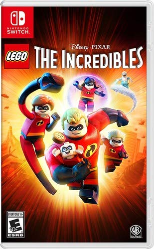 LEGO Disney Pixar's The Incredibles - Nintendo Switch (Best Wii Games For 7 Year Old Boy)