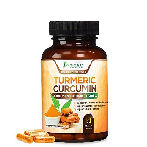Turmeric Curcuminoids Absorption Natures Nutrition product image