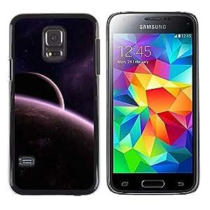 Los elementos Bronceado - Metal de aluminio y de plástico duro Caja del teléfono - Negro - Samsung Galaxy S5 Mini (Not S5), SM-G800