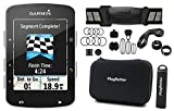 Garmin Edge 520 CYCLE BUNDLE with Garmin Chest HRM, Speed & Cadence Sensors, PlayBetter Portable USB Charger & Hard Carrying Case, Bike Mounts, USB Cable | High-Res Color Display | GPS Bike Computer