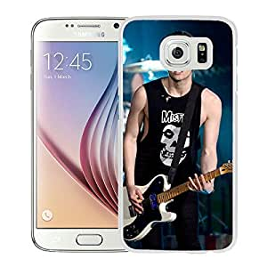 New Fashion Custom Designed Cover Case For Samsung Galaxy S6 With Luke Hemming White Phone Case